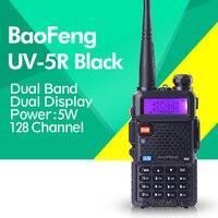 Baofeng uv-5r 136-174/400-520 mhzトランシーバー5ワットuhfとvhfデュアルバンドポータブルアマチュア無線uv5r
