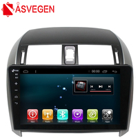 Asvegen 2 din Android Quad Core Car Radio DvD Player For Toyota Corolla 2007 2013 GPS Navigation Stereo Audio Video Multimedia