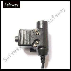Image 4 - Z טקטי באומן העלית השנייה אוזניות עם U94 עיתונות כדי דיבור PTT אוזניות עבור מידלנד שתי סיכות LXT460, LXT480, LXT490
