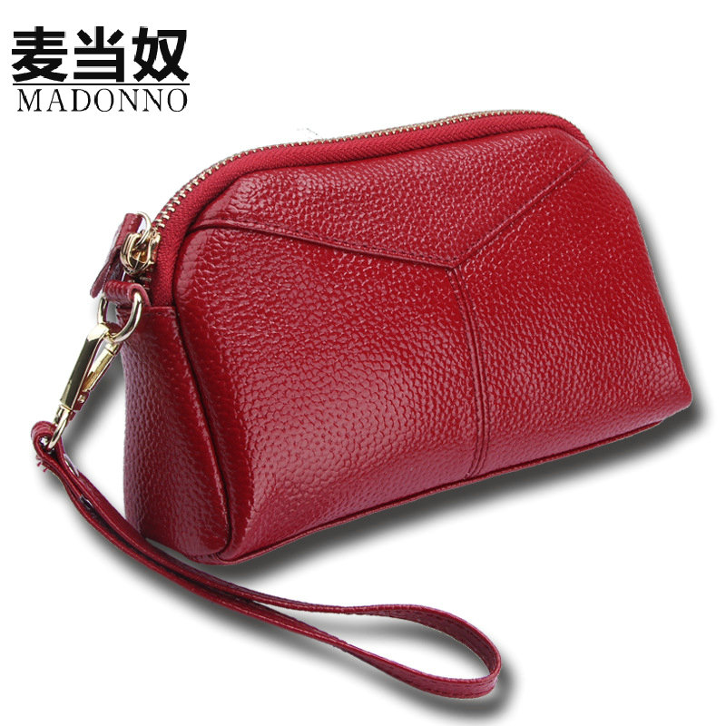 MADONNO Real Genuine Leather Women Wallets Brand Design High Quality 2017 Cell phone Card Holder Long Lady Wallet Purse Clutch-5 всё для шитья