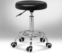 лучшая цена Round Swivel Chair Lifting Adjustable Height Rotatable Chair Office/Bar/Hair Salon/Reception Stool Simple Design 12 Colors