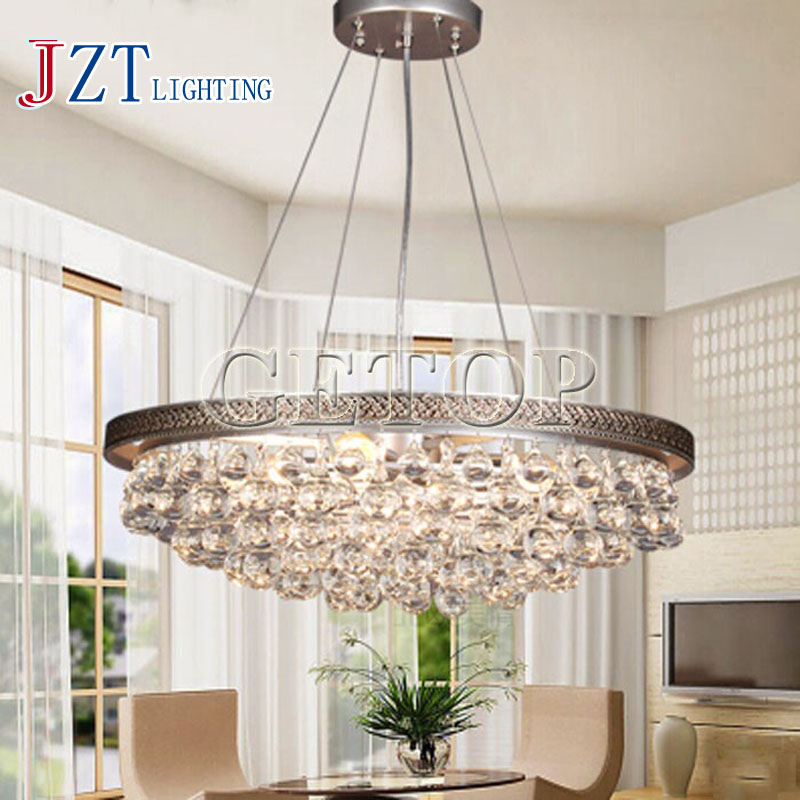 цены J Best price Modern Luxury Droplight Ceiling Lamp Absorb Dome Light k9 Crystal Feather Chandelier fashion light For Living Room