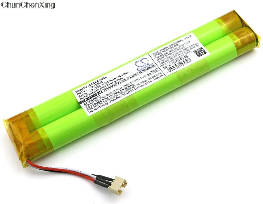 Cameron sino bateria de 2000 mah para tdk life no registro a33