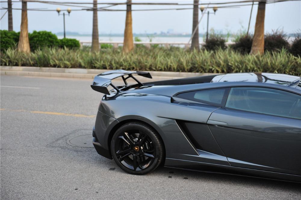 Top Kwaliteit Real Carbon Fiber Spoiler Gt Wing Voor Lamborghini