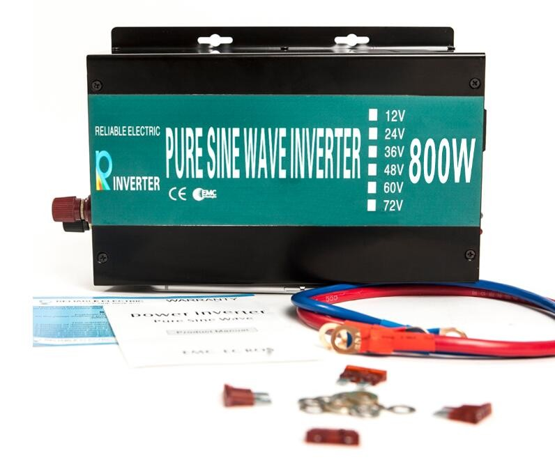 800W Pure Sine Wave Power Inverter 12V/24V DC To 100V/110V/120V AC Solar Inverter 12V 220V Inverter 800W new 400w 800w pure sine wave solar power inverter dc 12v 24v to ac 110v 220v car power inverter led display drop shipping
