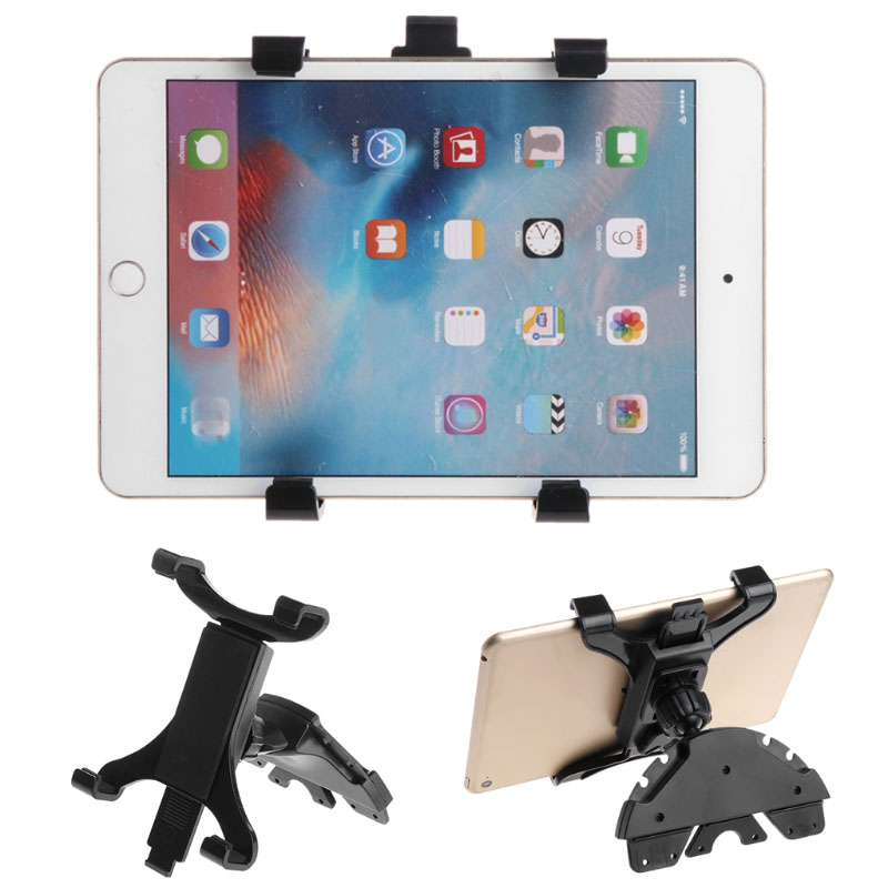 Car CD Slot Mount Holder Stand For ipad 7 to 11inch Tablet PC Samsung Galaxy Tab Phone #C77# Dropship