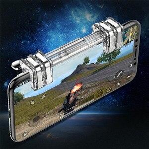 Image 2 - Draadloze Gamepad Voor Schakelaar pro Android Mobiele Telefoon PS3 PC Game Controller Voor PUBG Trigger Fire Knop Joysticks