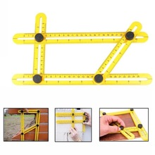 Angle-izer Template Tool Four-sided Measuring Tool Angle Finder Protractor Multi-Angle Ruler Layout Tool Angle Ruler