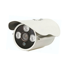 CCTV 800TVL CMOS White Metal Bullet Security Camera 3 IR Night Vision Waterproof Surveillance