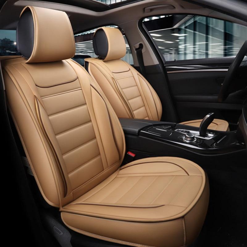 Универсальные чехлы для автомобильных сидений для Ford Mondeo Focus Fiesta EDGE EXPLORER aurus S MAX F 150 автомобильные аксессуары Полный (передняя + задняя)