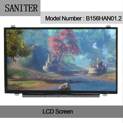 SANITER B156HAN01.2 B156HAN01.1 NV156FHM N43 72% NTSC full hd 1920x1080 laptopa 15.6 cal ekran|Ekrany LCD do laptopów|Komputer i biuro -