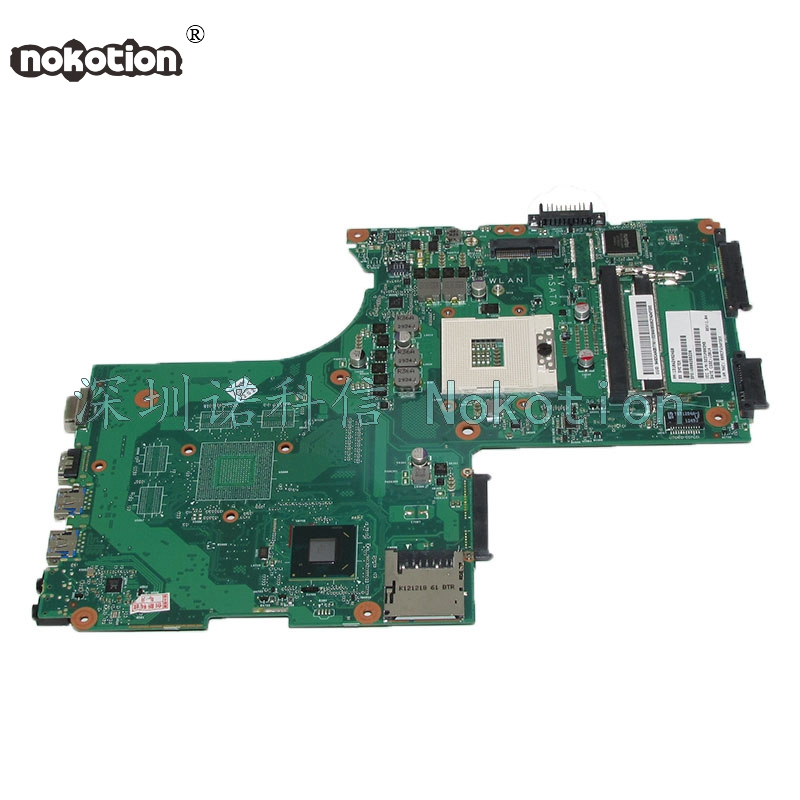 NOKOTION V000288220 1310A2492460 Laptop Motherboard For Toshiba satellite P870 P875 Mainboard SLJ8E DDR3 6050A2492401-MB-A02 6050a2488301 mb a02 sps v000268060 laptop motherboard for toshiba satellite nb510 ddr3 sr0w1 n2600 cpu onboard mainboard