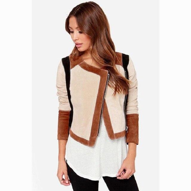 2015 Горячий Продажа Женщины куртка Европейский Мода Стиль О-образным вырезом три четверти рукава теплая куртка высокого качества строчка пиджаки JK008