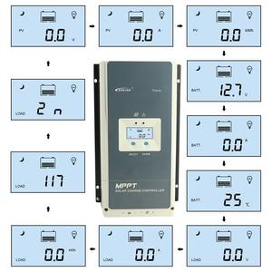 Image 2 - EPever 50A MPPT Solar Charge Controller 12V 24V 36V 48V for Max 150V Solar Panel Input Backlight LCD Battery Charger Tracer MPPT
