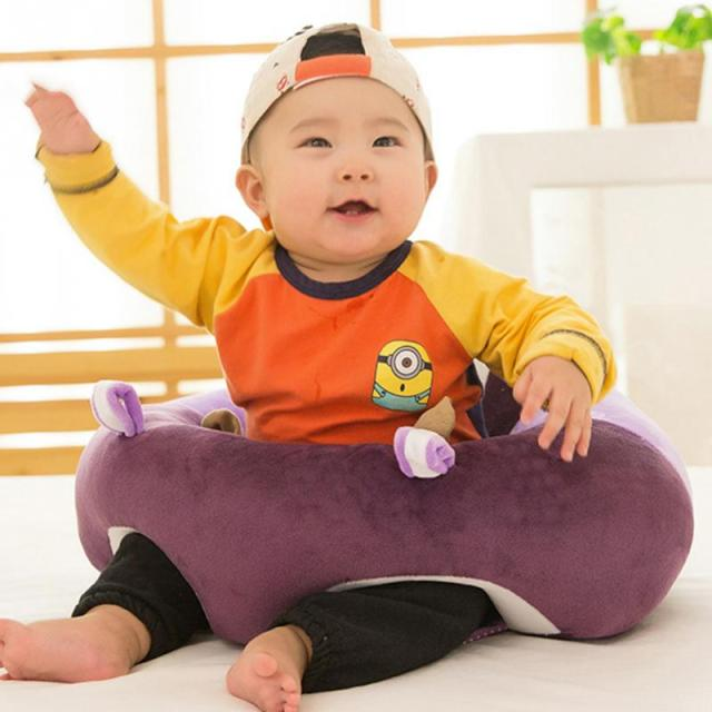 45*45cm Baby Support Seat Plush Soft Baby Sofa Infant Learning To Sit Chair  Keep