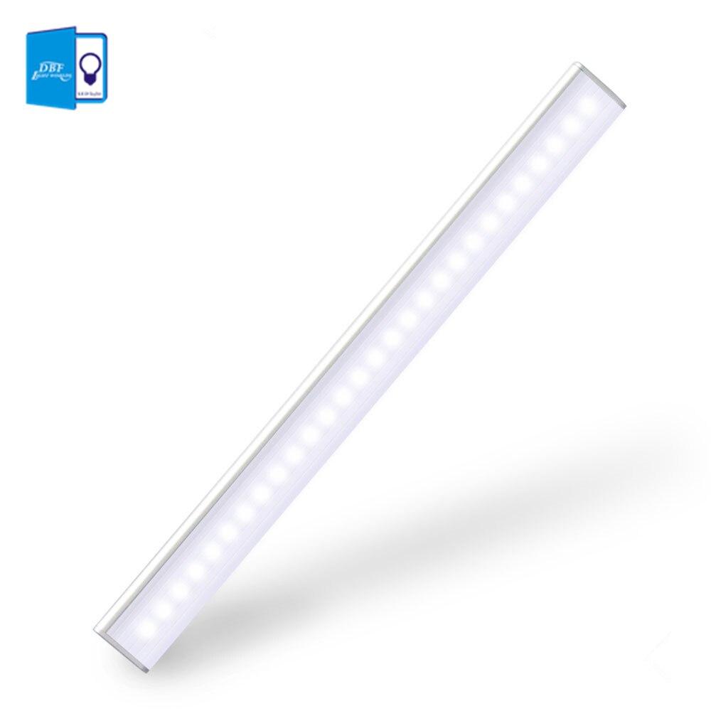 [DBF] 27 LED Rechargeable PIR Motion Sensor LED Night Light Lamp Avec Pour Couloir Voie Escalier Bande Magnétique éclairage mural