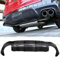 Углеродного волокна 3D Стиль задний диффузор бампер губы для BMW X4 F26 M Sport M TECH 14 +