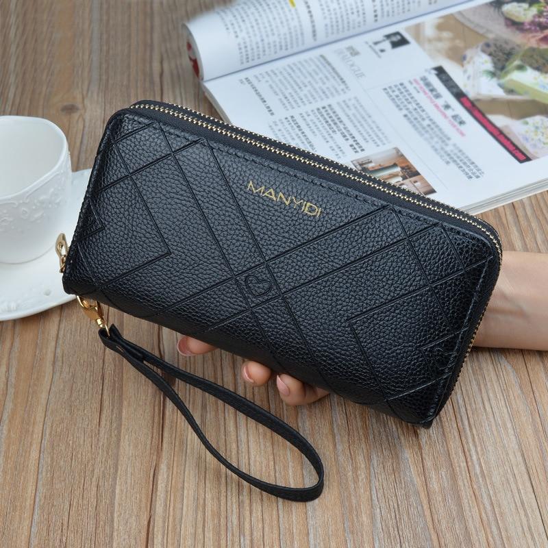 Coin Purse Wallets Card-Holder Money-Bag Clutch Female Fashion High-Quality Long Women
