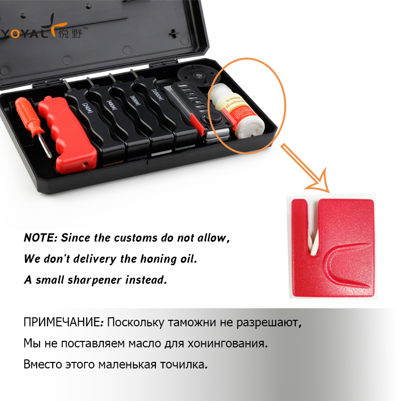 Hot sale Multifunction Outdoor Professional Knife Sharpener apex edge pro T0932W sharpening System 4 stones lansky TAIDEA in Sharpeners from Home Garden