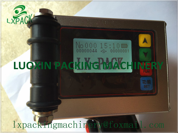 LX-PACK - madalaimad tehasehinnaga käeshoitavad tindiprinterid - kõrge eraldusvõimega tindiprinterid Tööstuslikud tindiprinterid