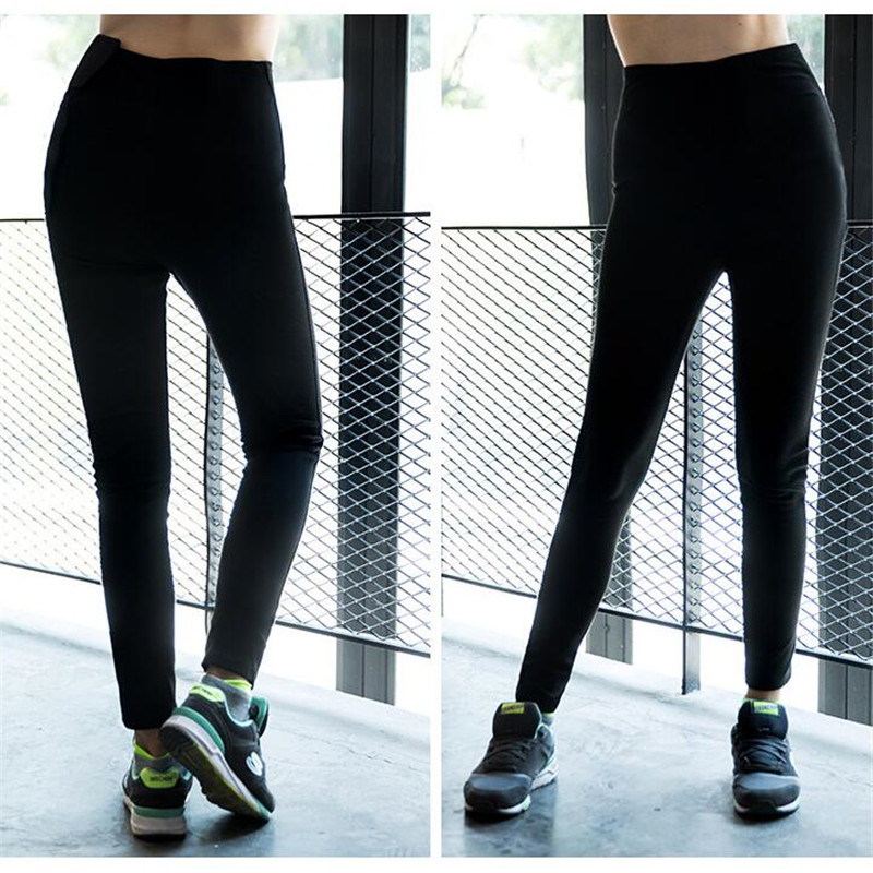 de2d3bc760ed Women Rapid Sweating Shapers Weight Loss Long Pants Slim Fitness Exercise 3D  Tight Pants