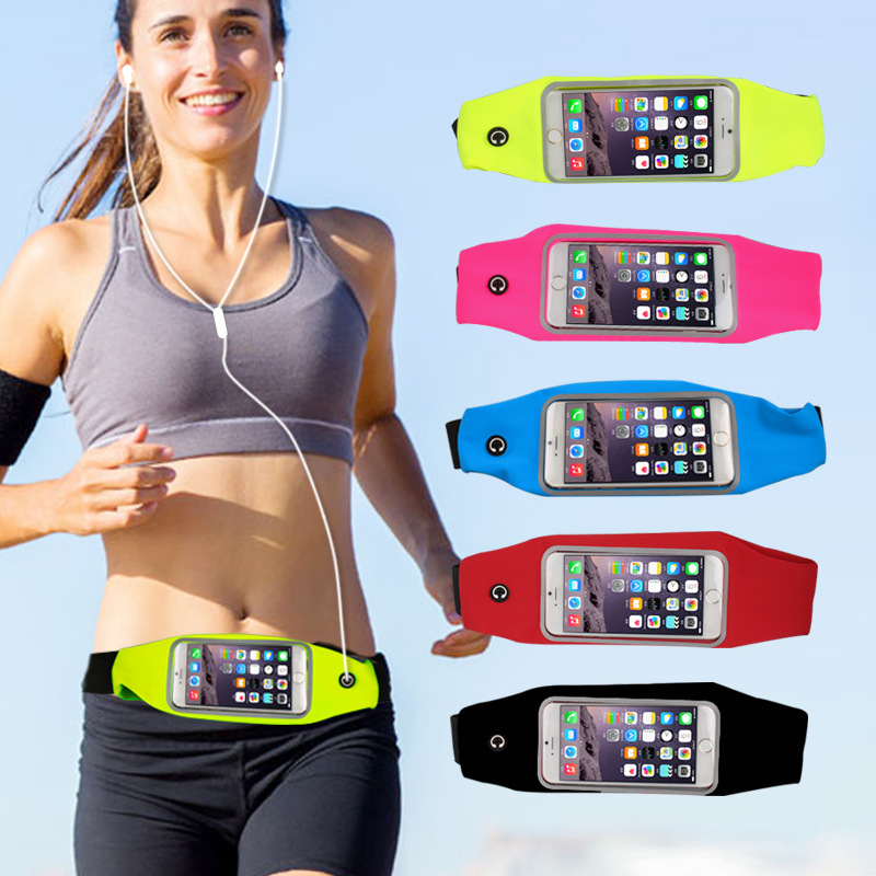 Obedient Outdoor Sports Running Waist Phone Bag Case Gym Waterproof Phone Wallet For Iphone 6 6s 7 7plus For Samsung Huawei Xiaomi Phones Armbands