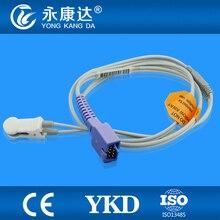 Biolight M700/M800 Adult Ear  Clip pulse oximeter spo2 sensor, DB9pins
