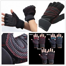 Sports Gym Gloves Dumbbell Men Women Weight lifting Gym Half Finger Breathable Weightlifting Fitness Gloves Gloves