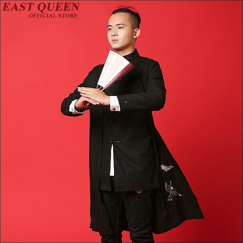 Traditional chinese clothing for men Japanse streetwear mens kimono jacket tangzhaung cheongsam male clothing AA1494X