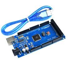 20 set/lote Mega 2560 R3 Mega2560 Placa de ATmega2560 16AU rev 3 + Cable USB mejor servicio de calidad