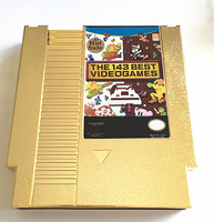 THE 143 In 1 BEST VIDEO GAMES OF ALL TIME! Contra/Earthbound/Megaman 123456/Turtles 1234 72 Pins 8 Bit Game Card