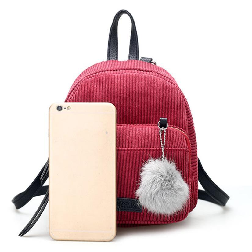 corduroy mini bolsa bolsa duplo Material Principal : Veludo