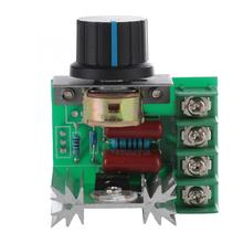 Ac Servomotor Ac Motor AC 220V 2000W Thyristor Motor Speed Control Adjustable Power Controller For Temperature Variable Speed