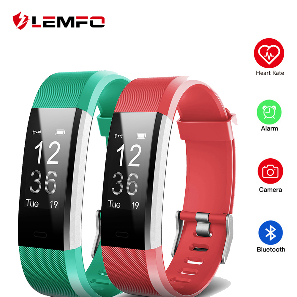 ID115 RH Plus Smart Bracelet Bracelet Soutien Moniteur de Fréquence Cardiaque Fitness Tracker Smartband pour Android IOS Téléphone