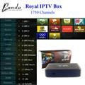 MAG254 Caja IPTV IPTV Árabe Francés Real Europa REINO UNIDO 1700 Canales de IPTV Linux 2.6.23 STiH207 MAG 254 Unidades Top Box