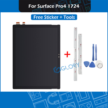 New Touch Screen Assembly For Microsoft Surface Pro4 1724 LCD Display with Sticker Tools LTN123YL01-001 - sale item Tablet Accessories