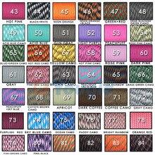 YOUGLE 108 colors Paracord 550 Parachute Cord