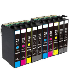10 Compatible for ink 29XL Ink Cartridges For Expression Home XP-235 XP-245 XP-335 XP-342 XP-432 XP-442 XP-247 XP-435