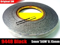5mm 50 Meters 3M Double Sided Adhesive Tape Sticky For Phone LCD Touch Pannel Display Screen