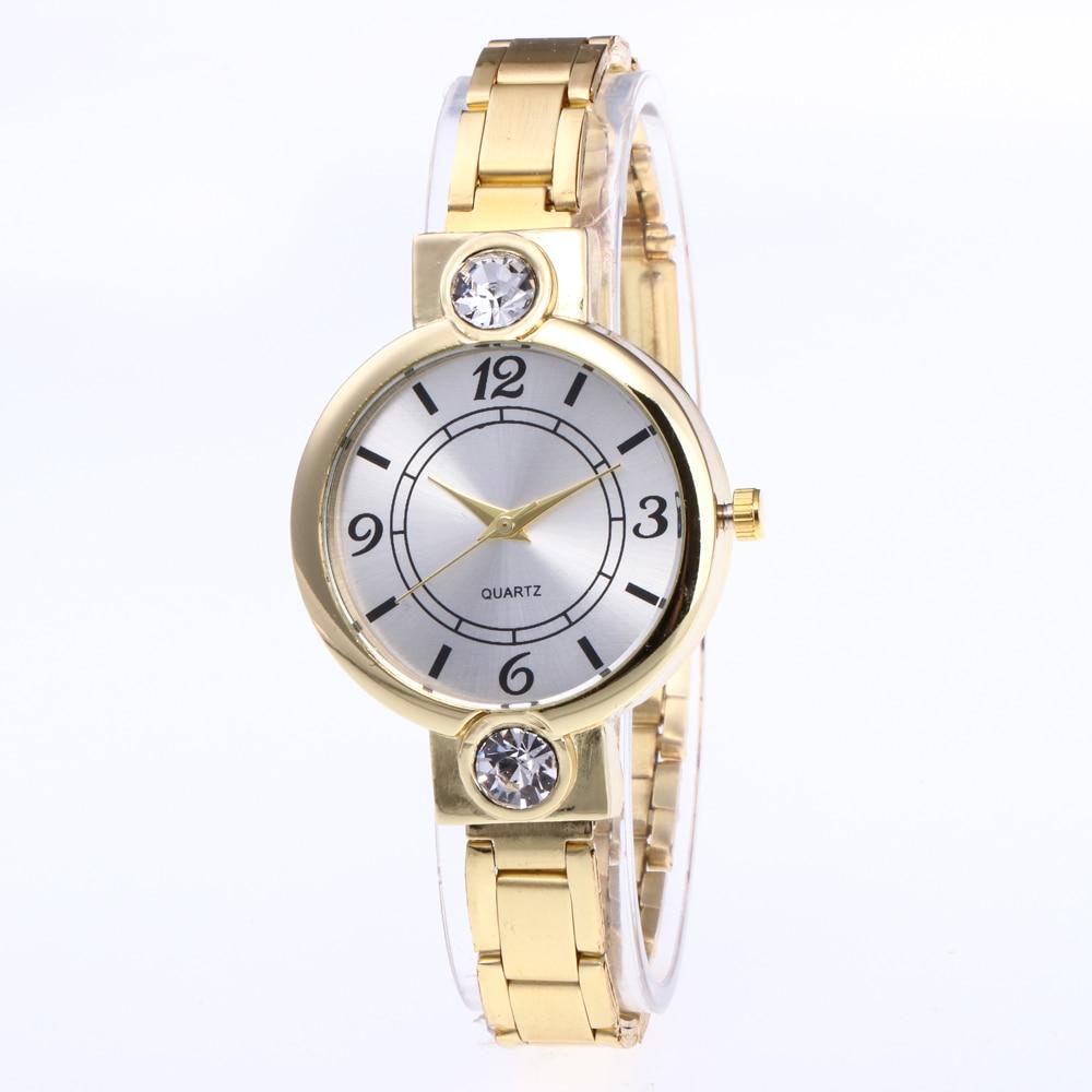 Relojes mujer 2018 Stainless steel Wristwatch Bracelet Quartz watch Woman Ladies Watches Clock Female Dress Relogio Feminino
