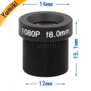"Image 5 - عدسة ليميكي CCTV F2.0 M12 * 0.5 8 مللي متر 45 درجة CCTV عدسة لوحة الكاميرا ل 1/3 ""أو 1/4"" ccd"