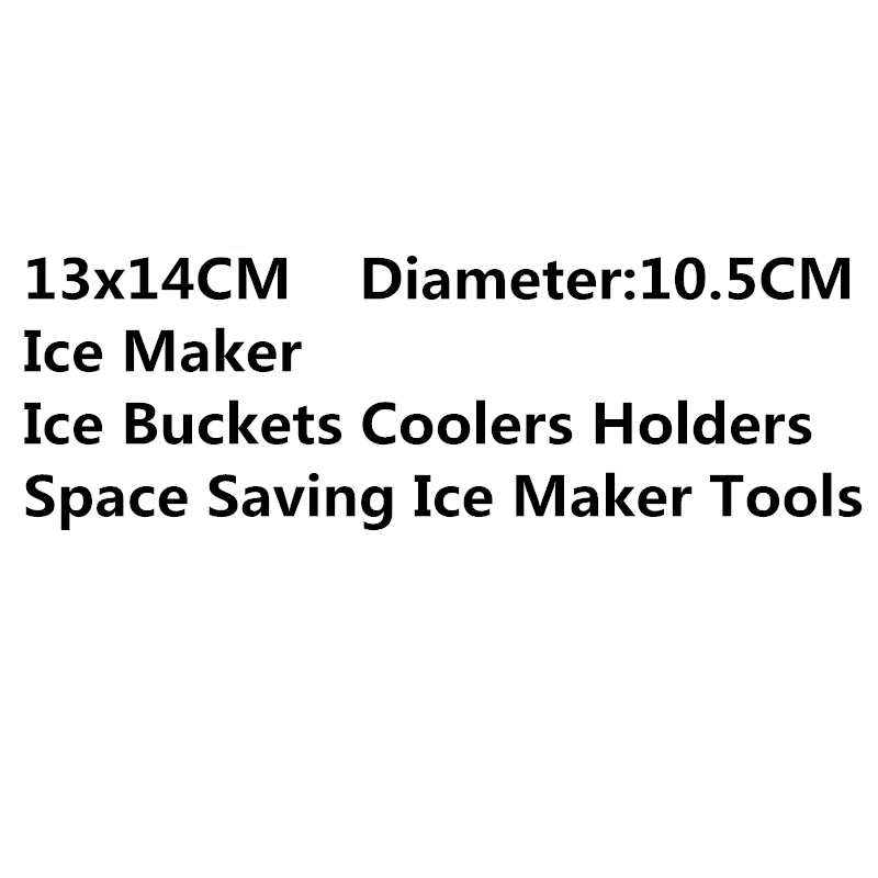 New Ice Maker Genie The Revolutionary Space Saving Ice Cream Tools Ice Buckets Coolers Holders Mold Ice Maker Kitchen Tools Cube