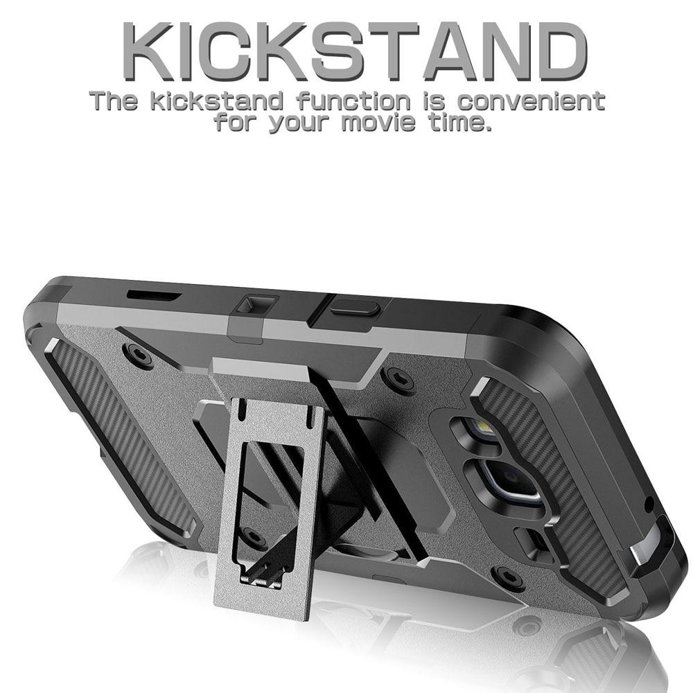 Heavy Duty Durable Armour Case Holster + Belt Clip Kickstand - Բջջային հեռախոսի պարագաներ և պահեստամասեր - Լուսանկար 3