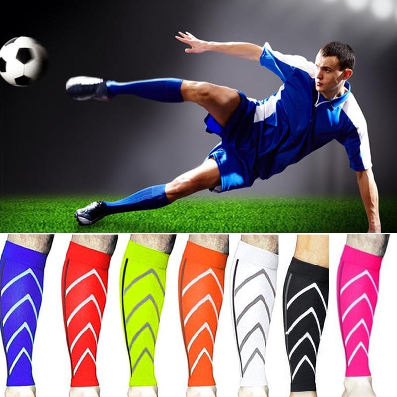 2Pcs 1 pair Leg Suits Professional Men Sport Leggings Soccer Shin Pad Sport Climbing Gym Fitness Accessories Leggings Board