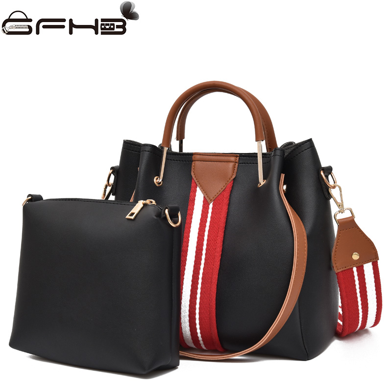 Female Handbags Bucket Crossbody Bags For Women Fake Designer Handbag Fashion Pu Leather Shoulder Composite Bag Sac A Main Femme cristiano burani pe1450 burani ss14
