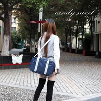 Японские студенческие сумки JK сумка для путешествий женские сумки на плечо одноцветные школьные сумки для школьников сумки-мессенджеры
