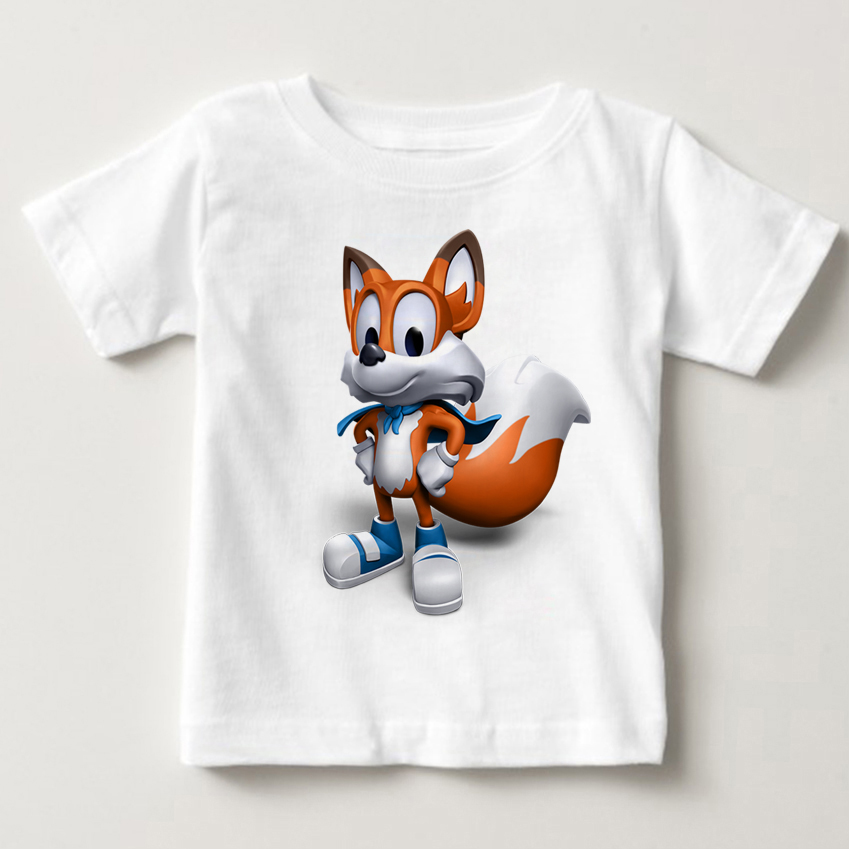 2018 online games super luckys taie Summer breathable and comfortable short sleeved clothing childs T-shirt children Tshirt MJ