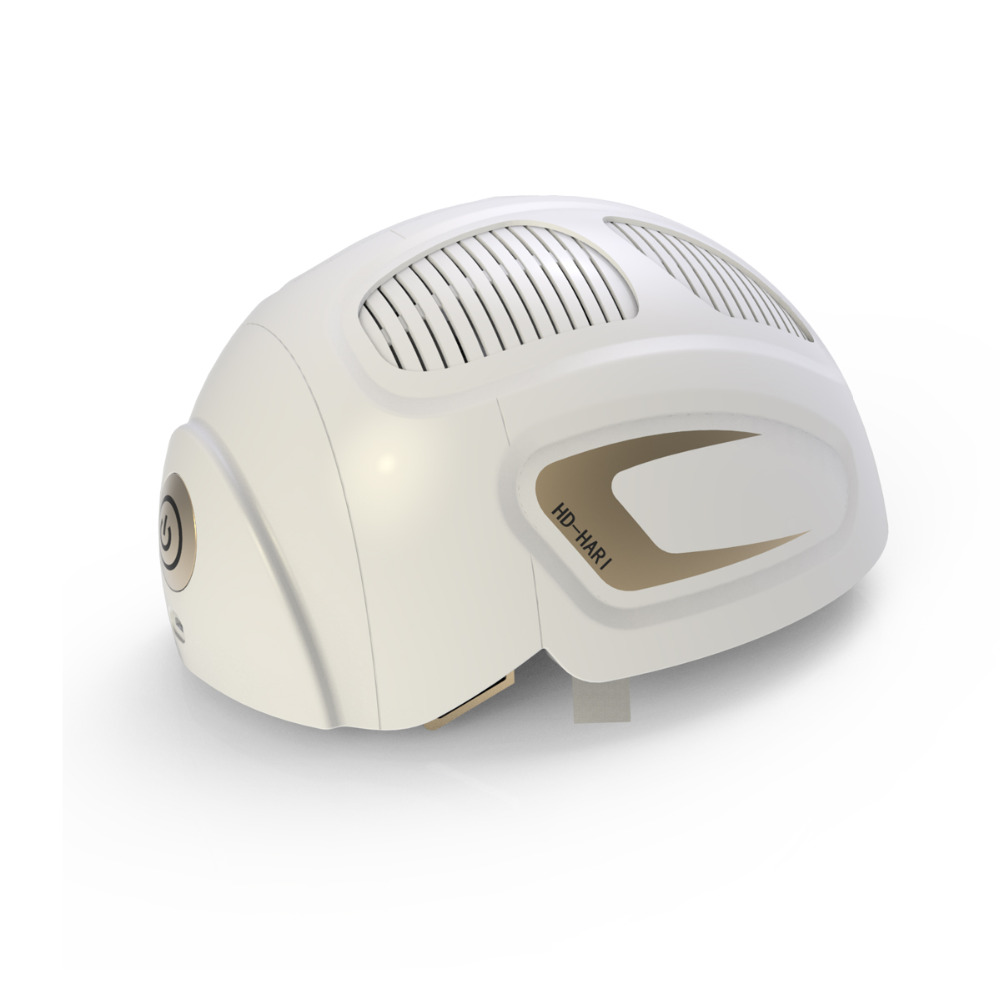 LLLT Hair Loss Therapy Laser Cap 680nm/850nm Diode Laser 150 Diodes Laser Hair Growth System Helmet ...