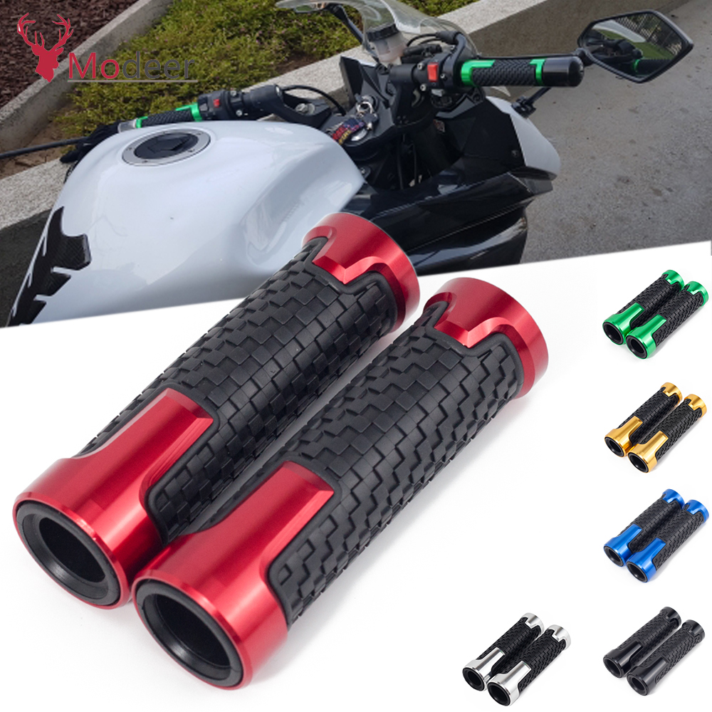 Flash Deals Fashion Accessories 22mm 78`` Brand New Motorcycle Anti-Skid Handle Grips grips handlebar FOR Piaggio Vespa GTS 300 (15)