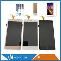 5.0 Inch For BQ BQ-5022 Bond BQ 5022 BQS 5022 BQS-5022 LCD Display With Touch Screen Digitizer Black White Gold Color With Kits